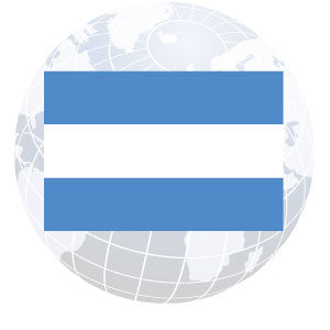 Argentina Civil Outdoor Flags