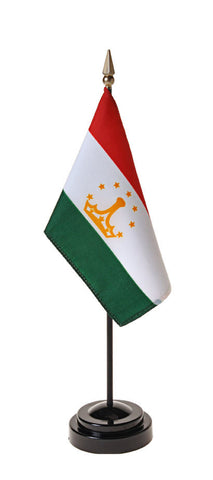 Tajikistan Small Flags