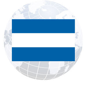 El Salvador Civil Outdoor Flags