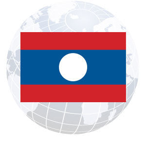 Laos Outdoor Flags