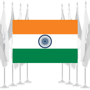 India Ceremonial Flags