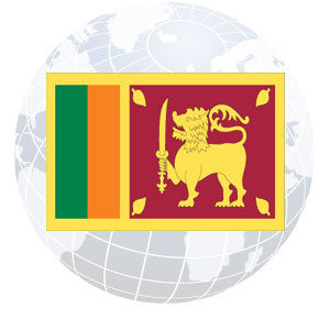 Sri Lanka Outdoor Flags