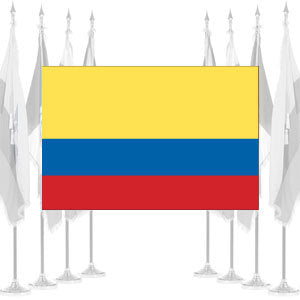 Colombia Ceremonial Flags