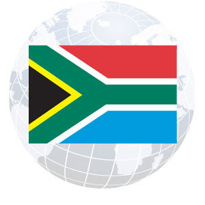 South Africa Outdoor Flags