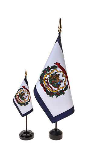 West Virginia Small Flags