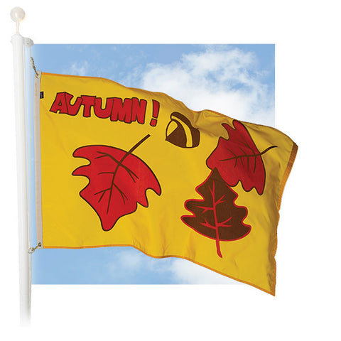 Celebration Outdoor Flags - Autumn Leaves