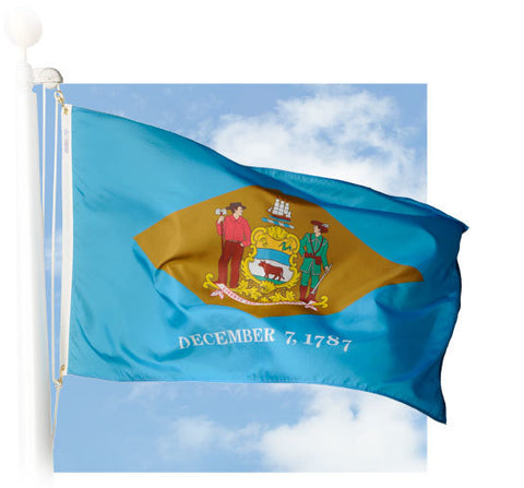 Delaware Outdoor Flags