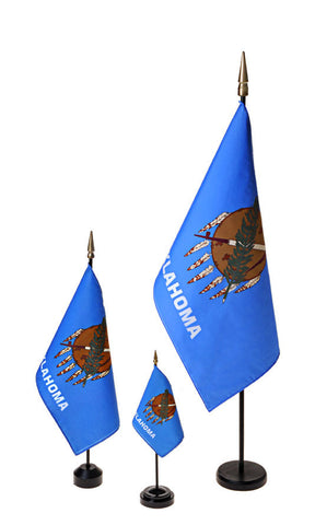 Oklahoma Small Flags