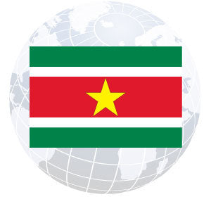 Suriname Outdoor Flags