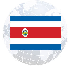 Costa Rica Government Outdoor Flags