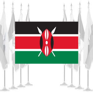 Kenya Ceremonial Flags