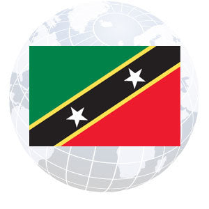 St. Kitts-Nevis Outdoor Flags
