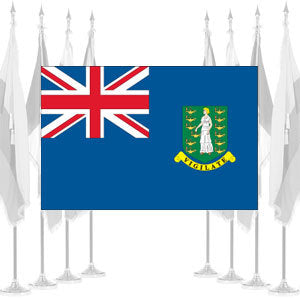 British Virgin Islands Ceremonial Flags