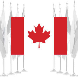 Canada Ceremonial Flags