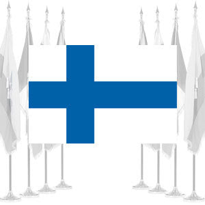 Finland Ceremonial Flags