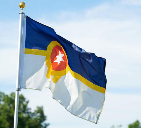 Tulsa flag - the people's flag