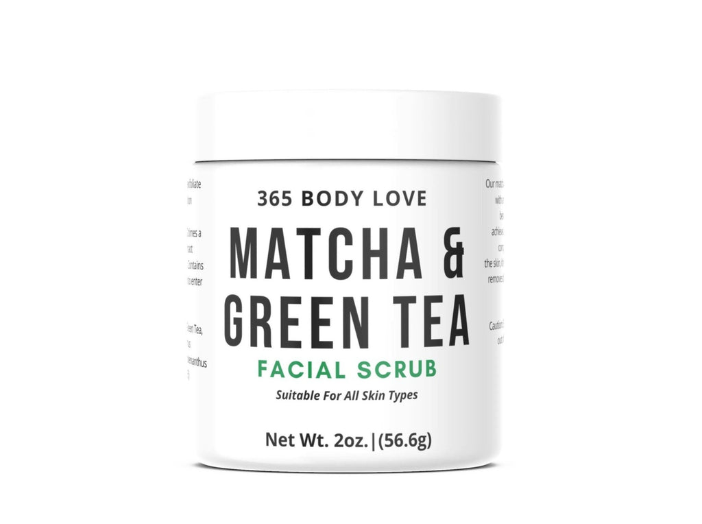 Matcha & Green Tea Facial Scrub