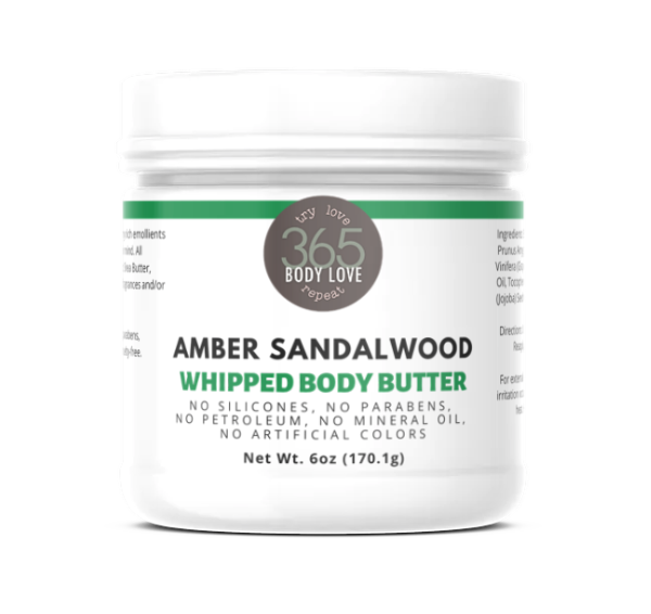 Amber Sandalwood Body Butter