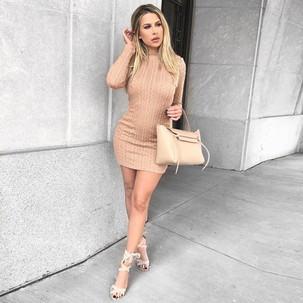 knited Sweater Dress - Melrose Collection
