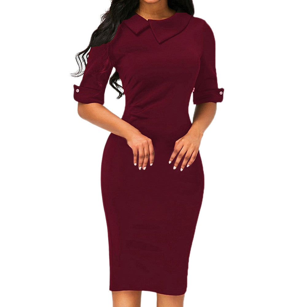Roe Me Dress - Melrose Collection