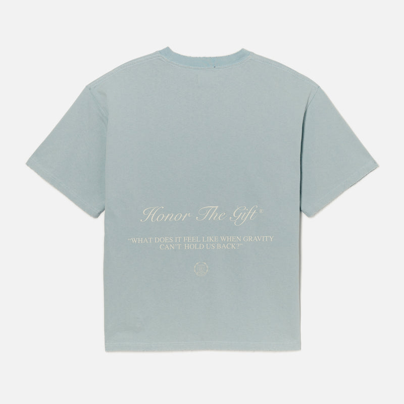 Iron Peace T-Shirt - Sky Blue