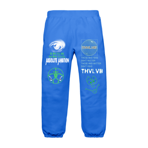 Orbit Sweatpants - Blue