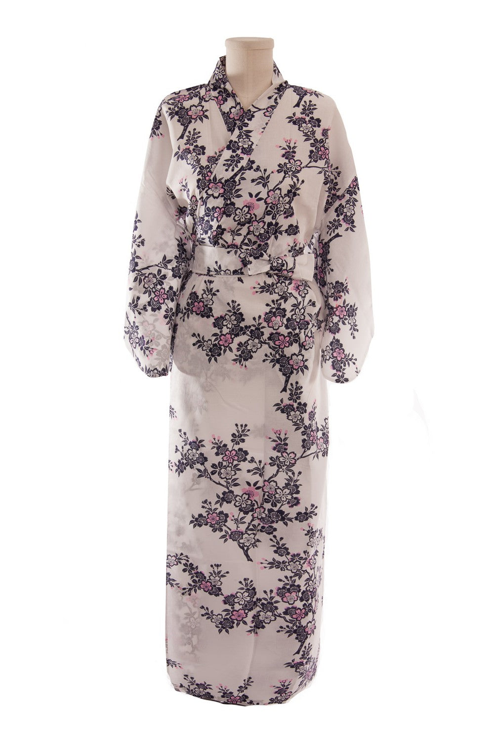 Women's Yukata  Cherry Blossoms