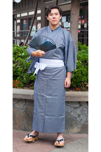 Men's Yukata : Stripes