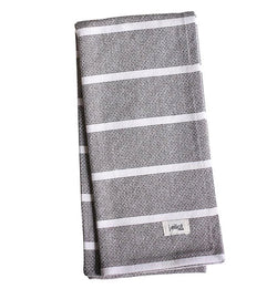 Jackson Tea Towel Charcoal