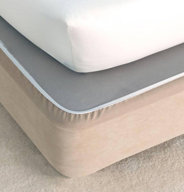 Hotel Faux Suede Bed Wrap