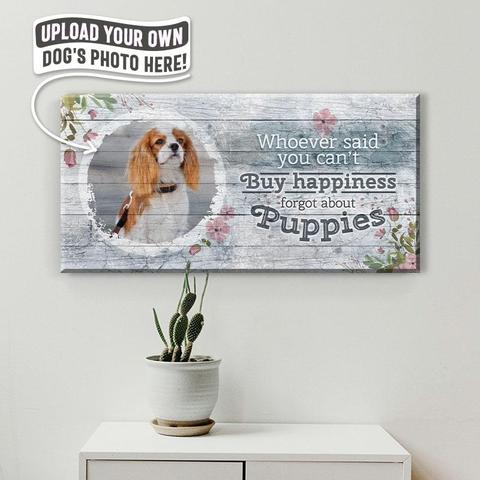 """Live, Laugh, Love"" But For Dogs 