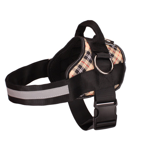NEW Limited Edition Fall Plaid All-In-One™ Pug Life Harness