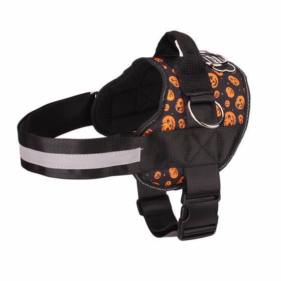 NEW Limited Edition Halloween Pumpkins All-In-One™ Pug Life Harness