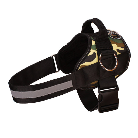 Back In Stock - Limited Edition Camo All-In-One™ Pug Life Dog Harness