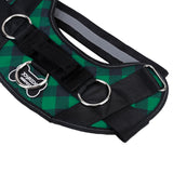 Green Plaid Harness