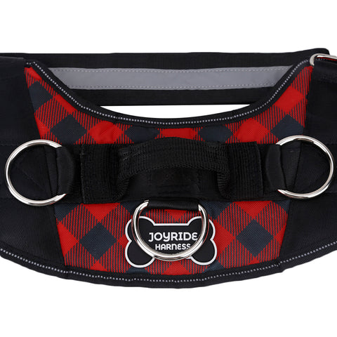 Red Plaid Harness