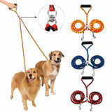 Double Dawg™  Power Leash 2 In 1 Dog Leash