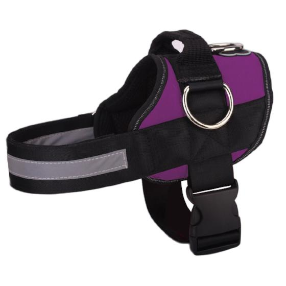 NEW All-In-One™ No Pull Dog Harness purple