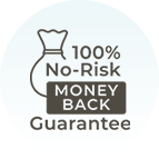 Joyride Harness 100% No Risk Money Back Guarantee Icon
