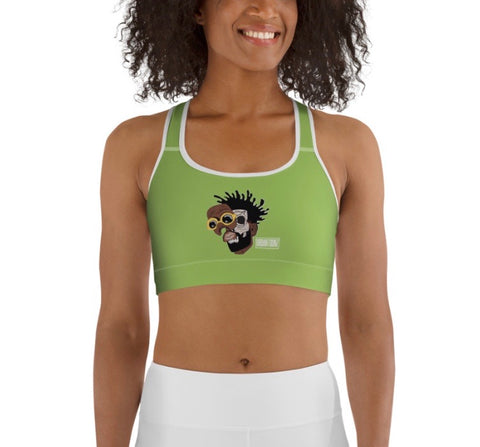 Mogul Sports Bra - Green