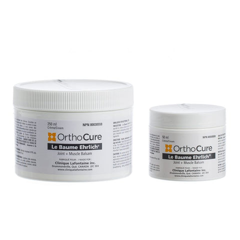 Relaxant musculaire - Baume Ehrlich - Orthocure - 50 ml / 250 ml - e-tao.ca
