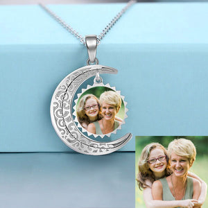 Photo Necklace The Love of Moon
