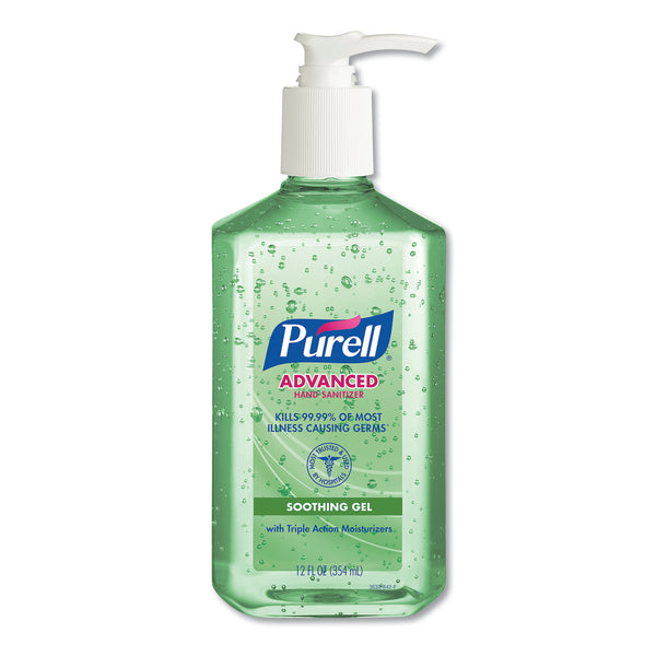 PURELL Aloe Advanced Instant Hand Sanitizer Gel - 12oz (Pack of 1)
