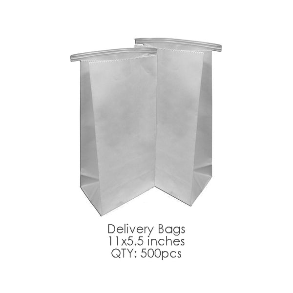 "Delivery Bags 11"" x 5.5"" (500pcs/box)"