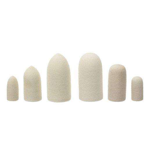 843A Felt Cones # 1- 1 X 1/2 Pointed