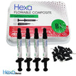 HEXA B1 Flowable Composite Kit 4 Syringes HF-3006
