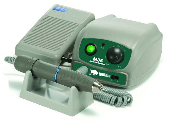 M35 35,000 rpm MG-StyleGray (w/Blue Ring) Electric Handpiece Only 38140