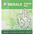 Emerald Stretch Poly Gloves SMALL 5/Case Box of 200, Total 1000 Gloves