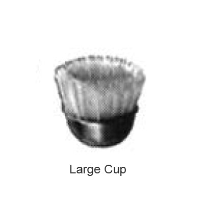 Large Cup Std-Stiff, Pkg. of 12 Abbott-Robinson HP Brushes