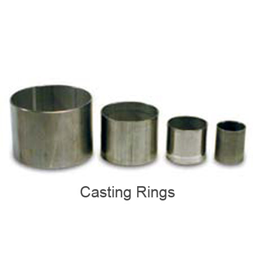 "AccuCast No. 45 Ring Flask 3-1/2"" x 5"" casting ring"